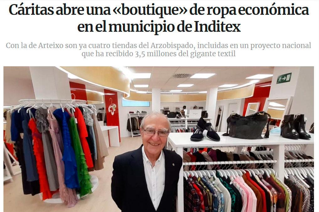 La prensa gallega se hace eco de la apertura de la nueva tienda de Arteixo