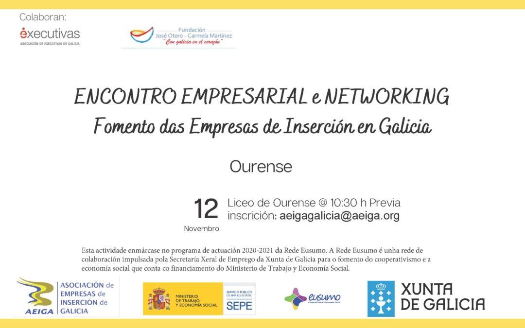 Encuentro empresarial y networking para el fomento de las empresas de inserción